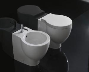 toaleta i bidet Bowl