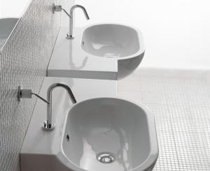 umywalki asymetryczne Bowl